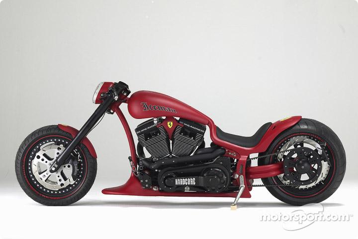 ライコネンのバイク