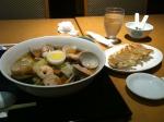 蛤ラーメン&餃子