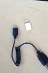Lightning - Micro USBアダプタ & USBバンジーケーブル マイクロUSB 充電 CW-139MC