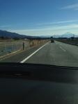 中央道から富士山