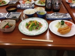 青樹荘の夕食