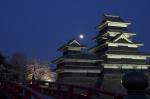 到着後すぐに撮った松本城