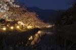 松本城-お堀-