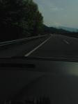 河口湖線から富士山