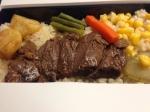 車内販売/神戸のステーキ弁当