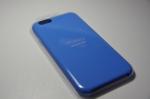 iPhone 6シリコンケース - ブルー