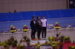 500m女子/表彰式