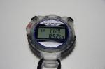 CREPHA デジタルストップウォッチ 日常生活防水仕様 30LAPメモリー バックライト付き クリア TCE-118-CL