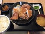 姨捨SA(上り)/山賊焼き定食