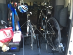 自転車の積み方