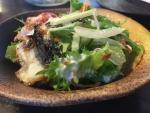 うなぎの燻製シーザーサラダ