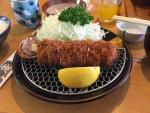 勝味庵本店/チーズ巻き定食