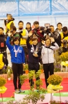 女子1000m表彰式