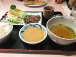 梓川SA/牛タン定食