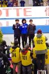 女子1000m2回目 表彰式