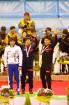 男子1000m2回目 表彰式