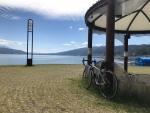 岡谷から諏訪湖