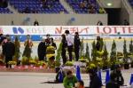 女子500m表彰式