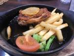 Cats Cafe/鶏モモ肉のソテーレモンステーキ